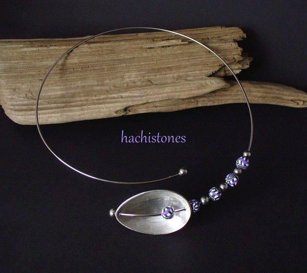 Plooikragen - Bestek sieraden - Ketting met een demitasse lepel - Een uniek product van HACHISTONES op DaWanda