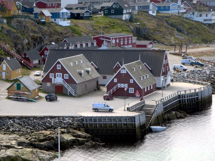 The Greenland National Museum occupies a 1936 warehouse on Kolonihavnen, the old colonial harbor of Nuuk.