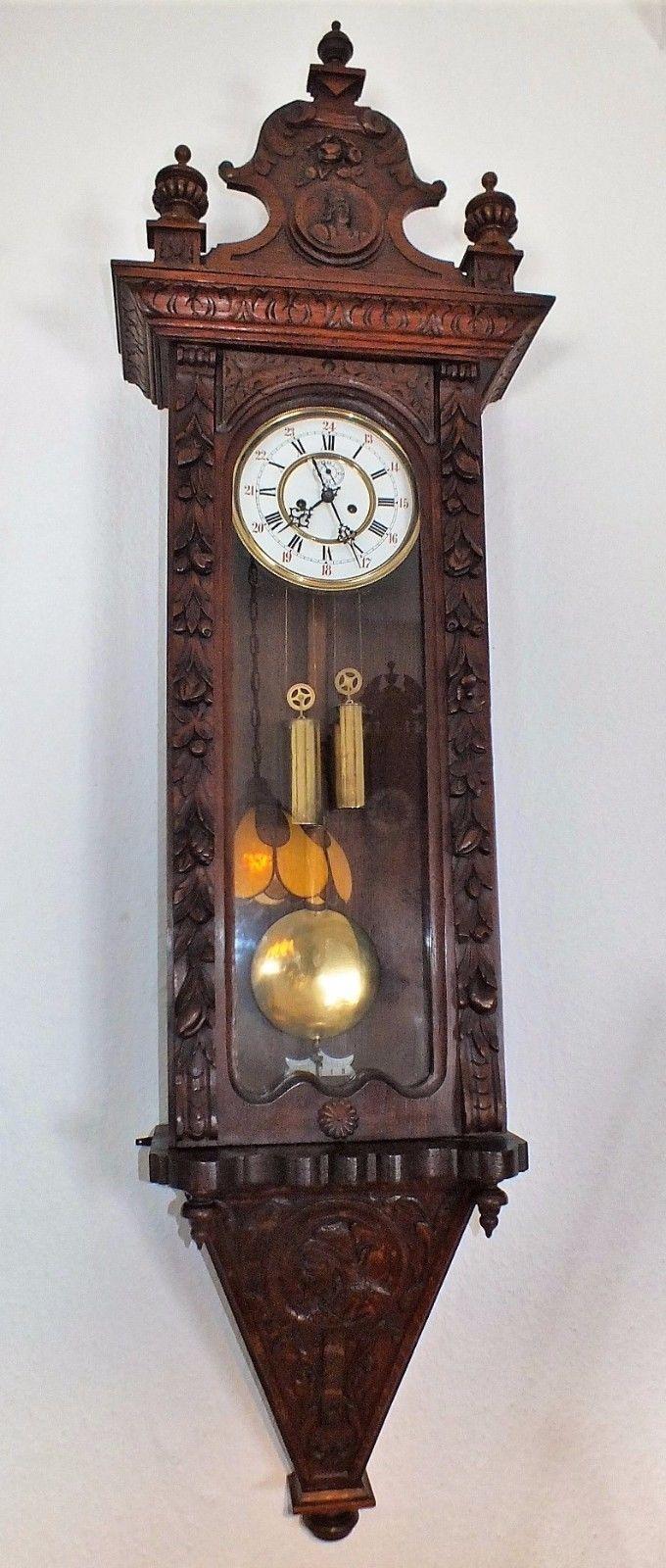 165cm Hoch Jugendstil SchwarzwÄlder Black Forest Wiener Vienna Regulator Unikate Ebay Jugendstil Antike Uhren Stil