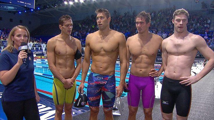 Men's 400 medley relay, Duel in the Pool 2015