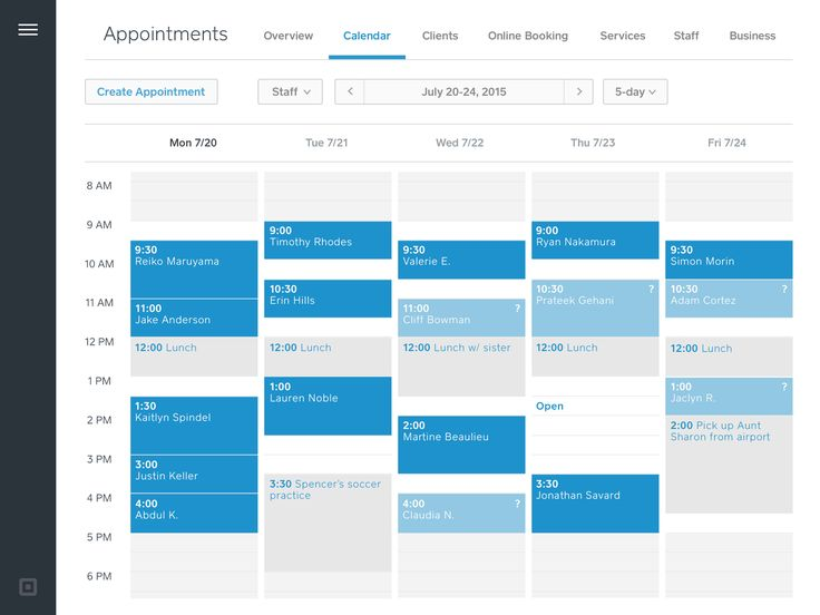 Appointment Scheduling Software | Square Appointments