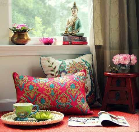Br Give Your Home An Ethnic Touch With These Living Room Decor Indian DecorationEclectic DecorInterior