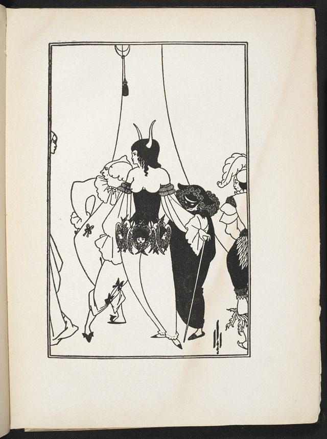 Image from Illustrations to Edgar Allan Poe by Aubrey Beardsley (BL 7825.t.19-57) - Category:Aubrey Beardsley - Illustrations to Edgar Allan Poe — Wikimedia Commons
