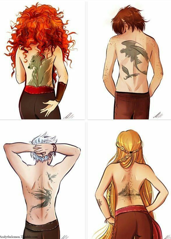The Big 4 Tattoes