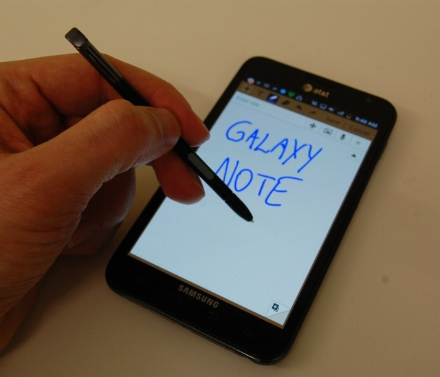The very delectable Galaxy Note reviewed by Mashable