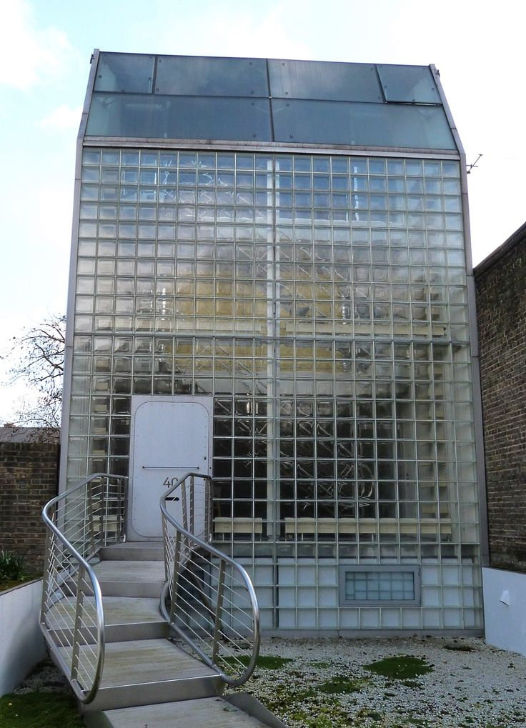 The Glass House Canonbury London Jan Kaplicky And