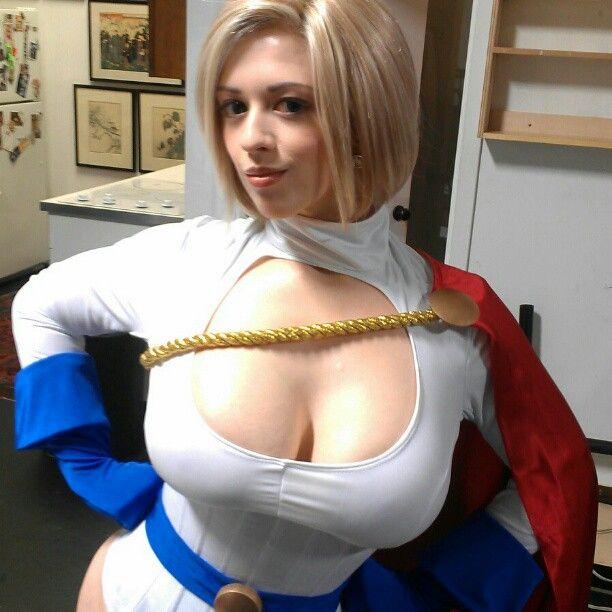 That Power girl cosplayers xxx