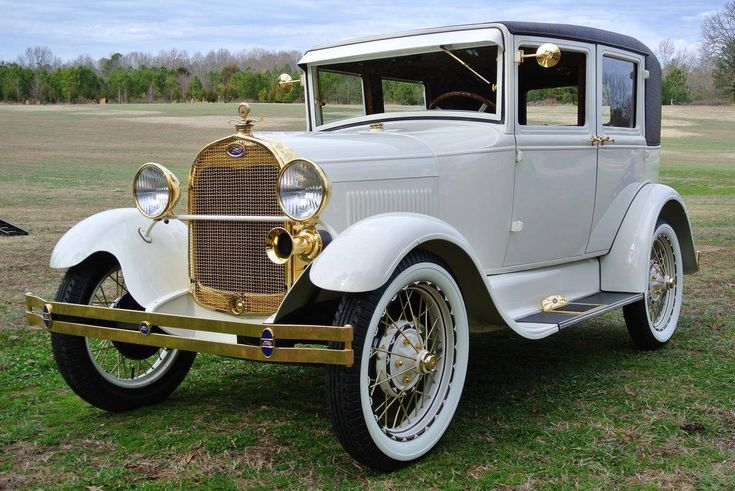 1928 Ford Model A Model A 4dr Leatherback...Re-Pin Brought to you by #CarInsurance at #HouseofInsurance in Eugene, Oregon