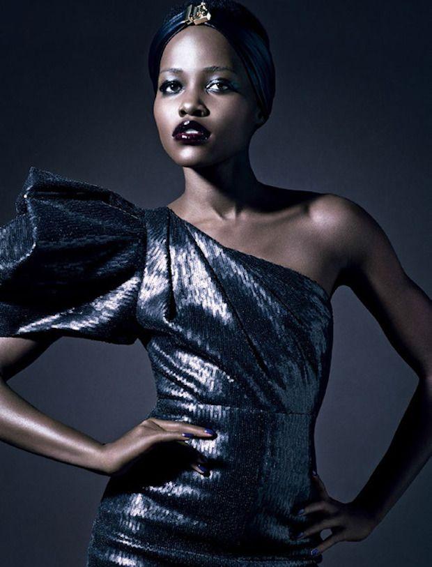 Upfront & Fabulous: Lupita Nyong'o for Vogue Italia February 2014 | TheRealMissDrea-Daily.com