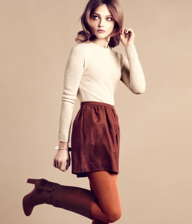this feels so 70s!Fashion, Style, Clothing, Winter Looks, Retro Fall, Colors, Fall Winte, Fall Outfits, Sasha Pivovarova