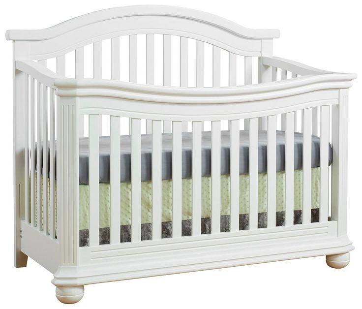 sorelle vista elite 4in1 convertible crib in white - Sorelle Cribs