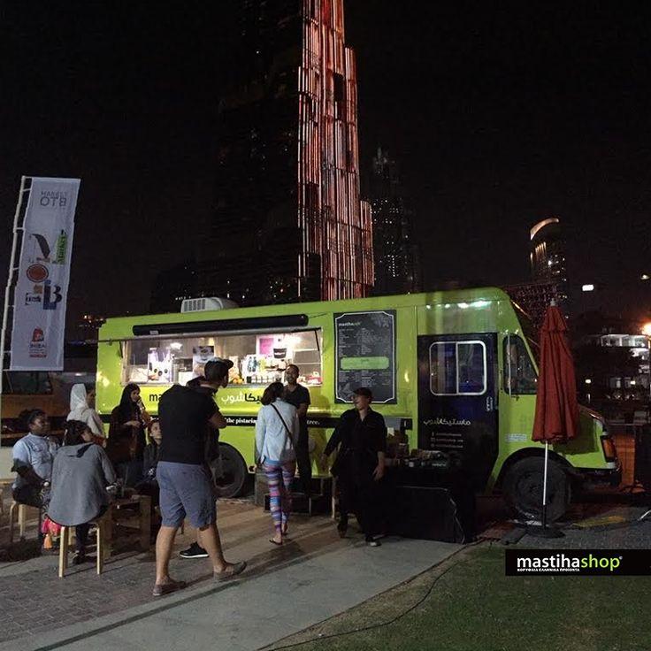 Our #mastiha truck in #Dubai