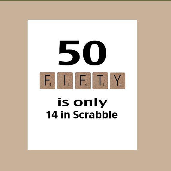 Een grote 50e verjaardagskaart afgedrukt op 60lb wit mat cardstock. Deze kaart maatregelen 5 x 7 inch en wordt geleverd met een witte envelop.