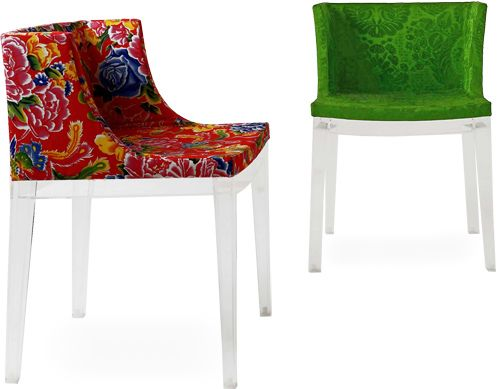 mademoiselle chair philippe starck and upholstery