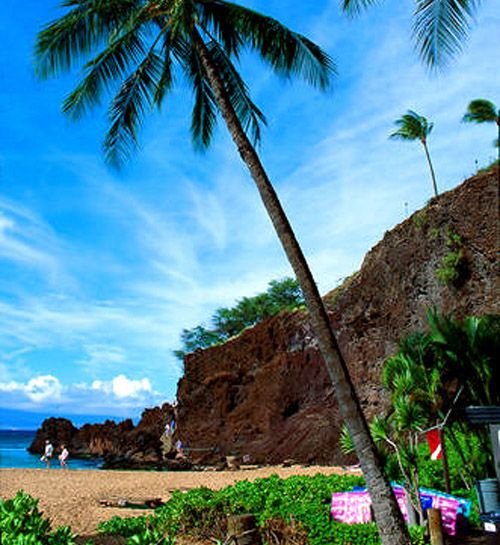 fabulous place to snorkel and swim out from shore to get to it too!! Black Rock, Kaanapali Beach, Maui, HI  -k