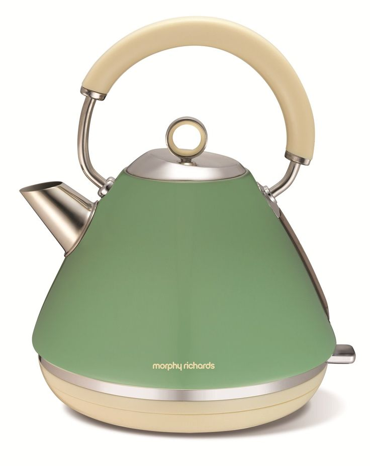 Accents Traditional Kettle Sage Green | Electric Kettles