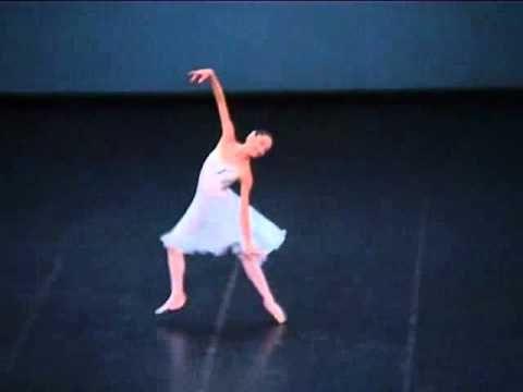 Dorothee Gilbert - excerpt from Balanchine's Tchaikovsky Pas de Deux. Brilliant!