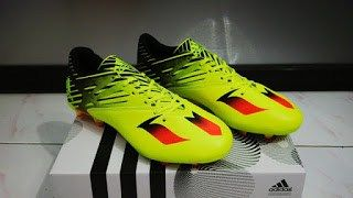 JSD18 - Sepatu Soccer Adidas Messi 2016 15.3 Stabilo (1)
