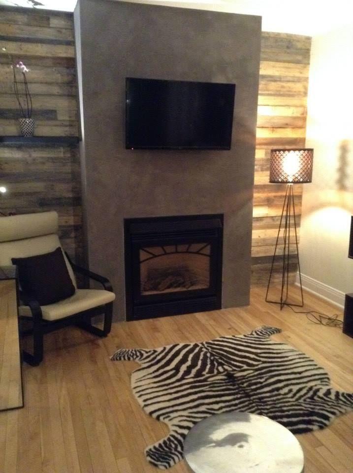 7 best mur salon palette images on Pinterest Home ideas, Living - comment estimer sa maison soi meme