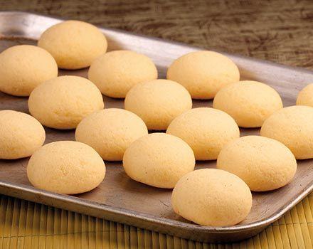 Pan de bonos con harina PAN
