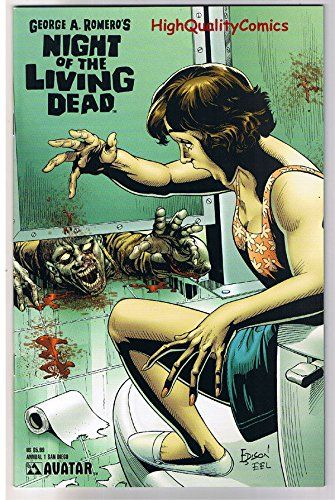NIGHT of the LIVING DEAD 1 VF Annual George Romero2008more NotLD in store @ niftywarehouse.com #NiftyWarehouse #NightOfTheLivingDead #Zombies #Horror #HorrorMovies #Movies #Zombie