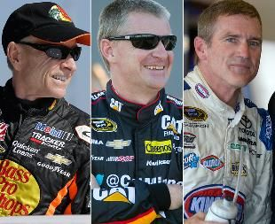 Season finale could be end of an era for Mark Martin, Bobby Labonte, Jeff Burton
