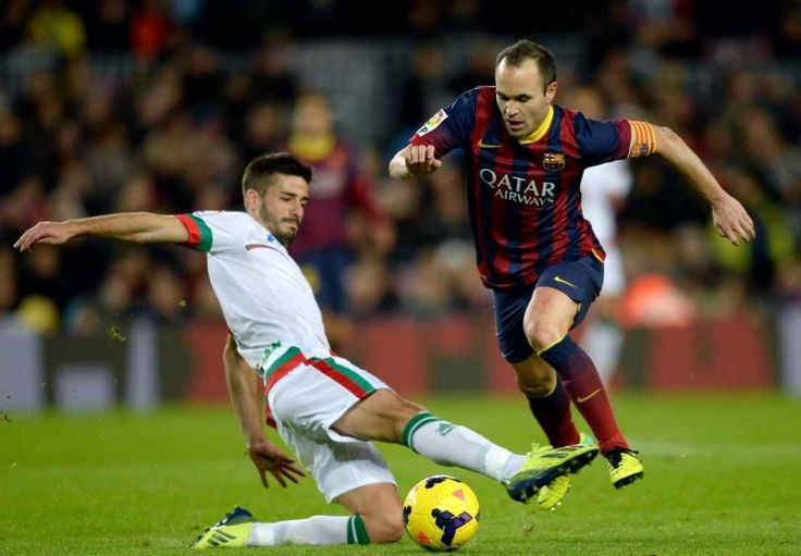 06. CM Andres Iniesta – Barcelona & Spain Top 10 FIFA 15 Player Ratings | FIFA 15 Best Players:- http://www.sportyghost.com/top-10-fifa-15-player-ratings-fifa-15-best-players/