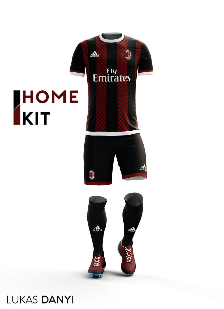 I designed football kits for Ac.milan for the upcoming season 16/17.