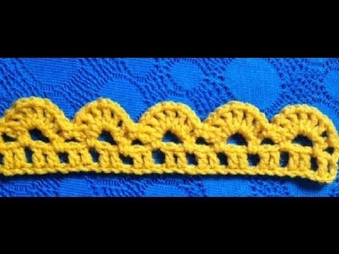 Crochet the Edge/Border Stitch Pattern #15 │ by ThePatterfamily