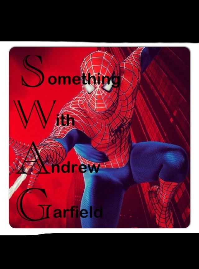 Haha OH YEAH #swag #andrewgarfield #spiderman so hot