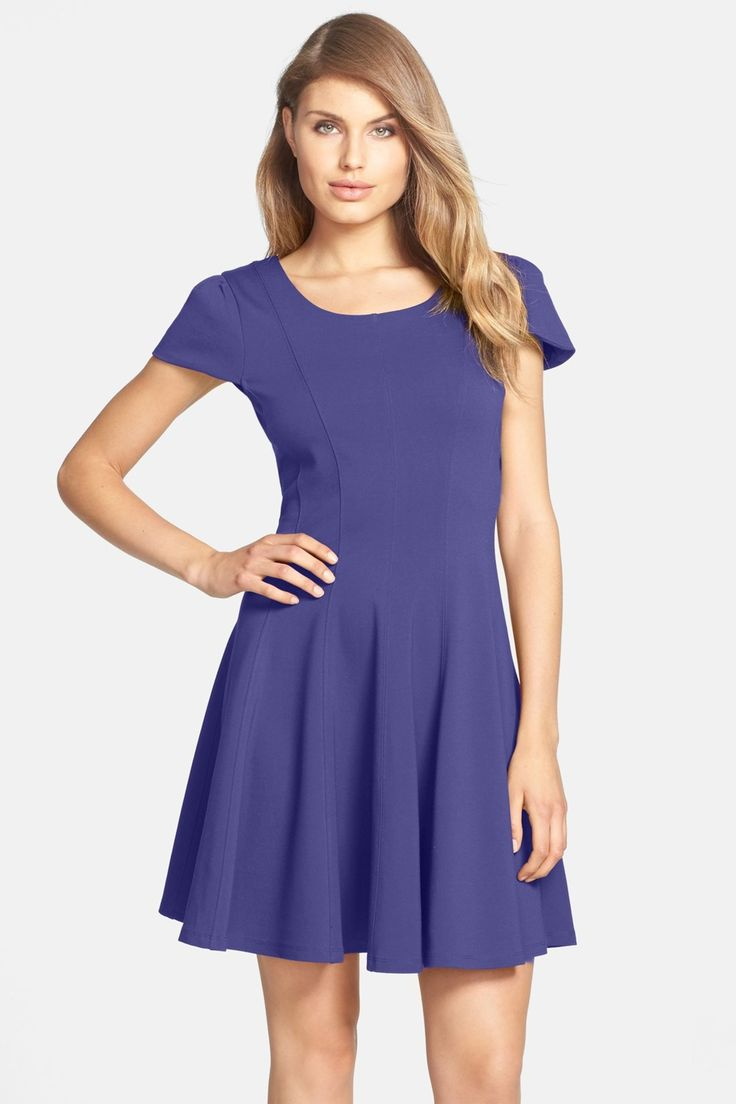 Double Knit Fit & Flare Dress by Felicity and Coco on @nordstrom_rack Sponsored by Nordstrom Rack.