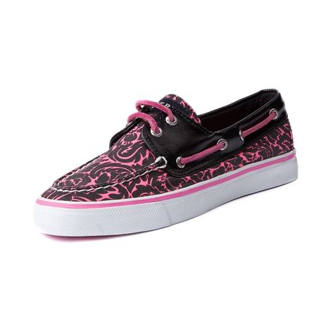 shop for womens sperry top sider bahama boat shoe in black