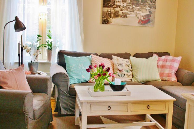 Livingroom spring pastelcolour