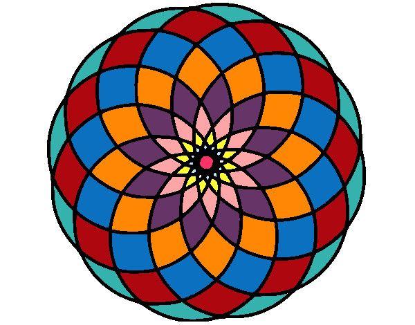 Mandalas coloreadas a mano faciles buscar con google mandalas pinterest mandalas and mandala - Mandala facile ...