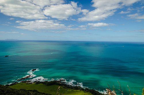 When sea meets rocks Bay of plenty New Zealand