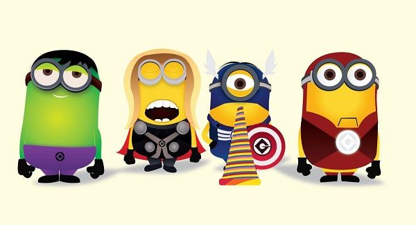 Cute Minion Avengers http://checkthisinfo.com/minions.php