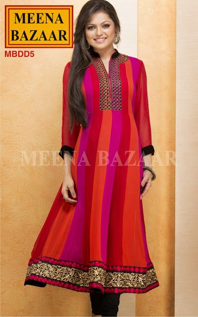 Fashion: Drashti Dhami Dresses Madhubala Collection from Meena Bazaar 2013