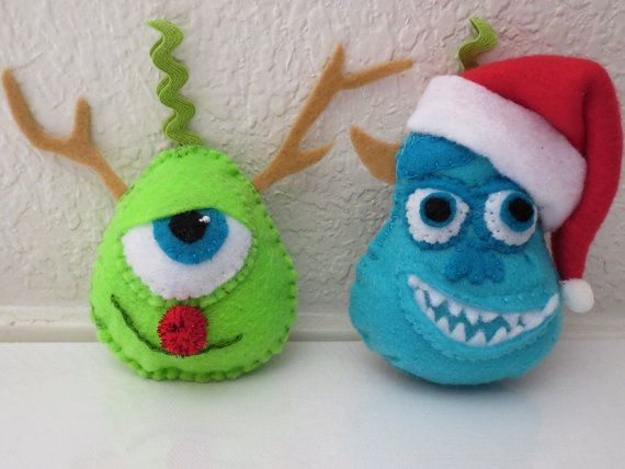 monsters inc craft ideas monsters inc inspired mike wazowski and sulley 4988