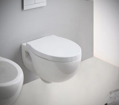 Vas wc suspendat Nero Ceramica Soft