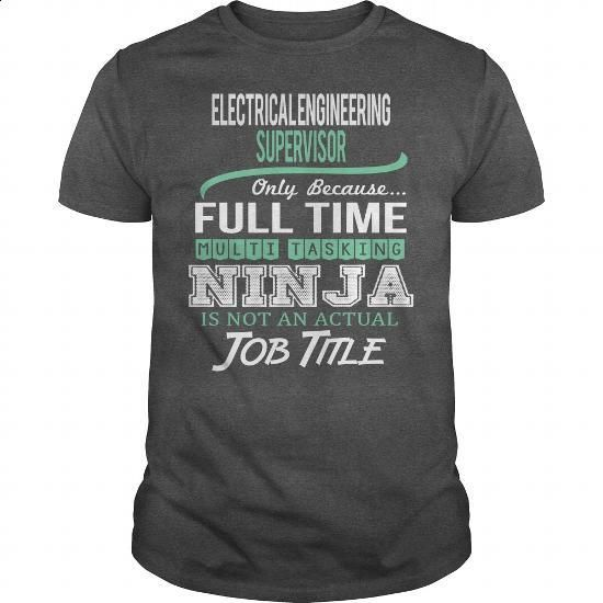 Awesome Tee For Electrical Engineering Supervisor - #tshirts #cheap sweatshirts. ORDER NOW => https://www.sunfrog.com/LifeStyle/Awesome-Tee-For-Electrical-Engineering-Supervisor-144545533-Dark-Grey-Guys.html?60505