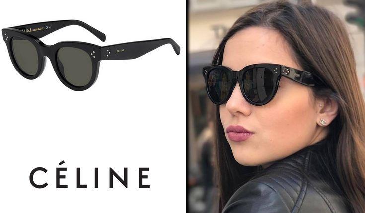 CELINE Baby Audrey - noir  Retrouvez les modèles Céline chez L'Opticien Professionnel 63 rue des Batignolles 75017 Paris Ligne 2 - Rome 09.51.74.66.15  Nous vous accueillions du lundi au samedi de 8h30 à 19h30.  #Celine #Célinelunettes #CélineFrance #CélineParis #CélineBabyAudrey #BabyAudrey #lunettesdessoleil #lunettes #batignolles #lopticienprofessionnel #opticienBatignolles #17eme