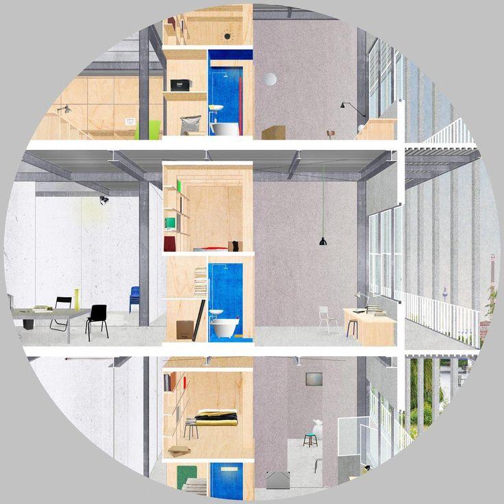 Dogma Communal Villa Greenhousearchitecturedrawing