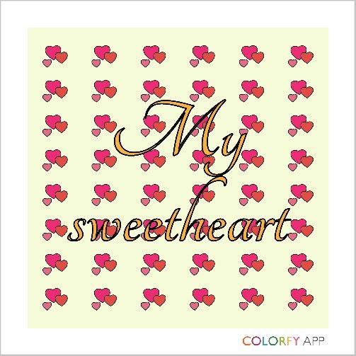 My sweetheart <3