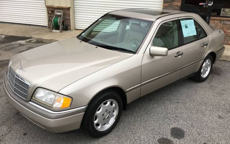 Grandma's Benz: 1997 Mercedes C280 - http://barnfinds.com/grandmas-benz-1997-mercedes-c280/