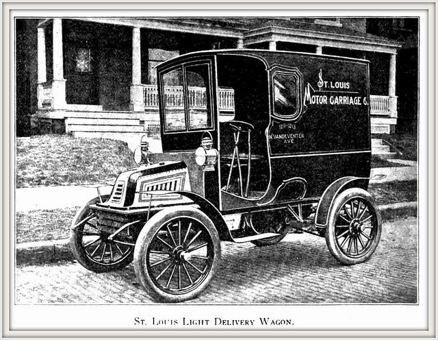 1903 The Light Delivery Wagon by the St. Louis Motor Car Company | Flickr - Photo Sharing!