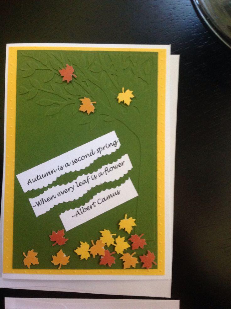 Autumn Quote Card