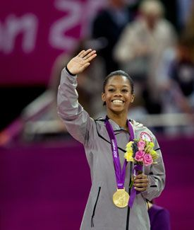 """""""Let all that I am praise the LORD; may I never forget the good things he does for me."""" These are the first words 16-year-old gymnast Gabrielle Douglas tweeted after she won the all around gold medal at the London Olympics yesterday. On the stadium floor, Douglas also told a reporter that """"the glory goes up to Him, and the blessings fall down on me.""""Prai The Lord, Gabby Douglas, Good Things, Gabrielle Douglas, Yayi Gabby, Praise The Lords, Douglas Win, Forget, I Am"""