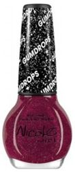 """Introducing NEW Gum Drop Collection: Nicole """"My Cherry Amour"""" Nail Lacquer by OPI *Dries to a sugar-like finish that shimmers with hints of fine glitter*"""