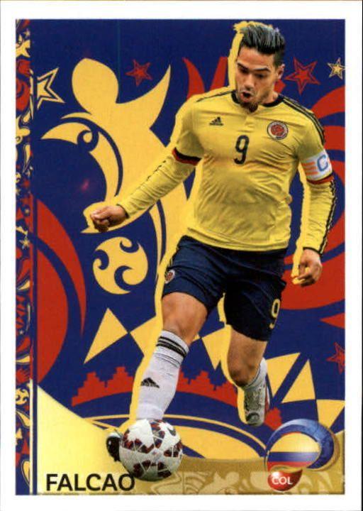 2016 Panini Copa America Centenario Stickers #410 Falcao