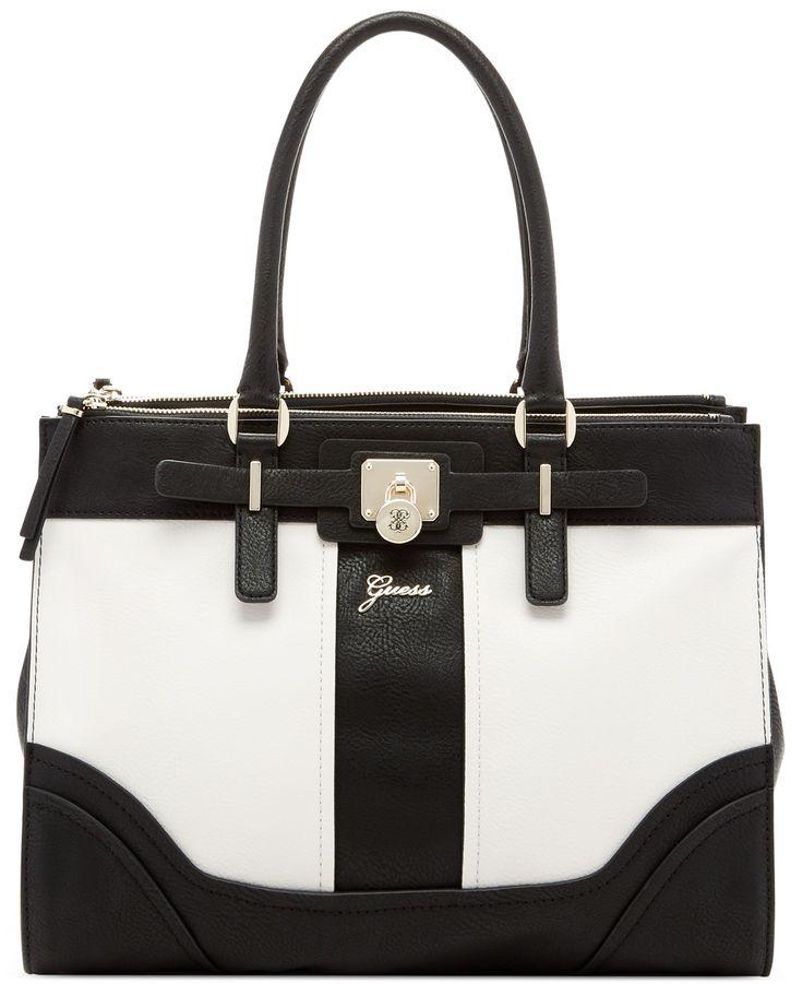 GUESS Greyson Status Carryall Saffiano - GUESS - Handbags & Accessories - Macy's